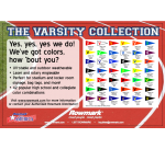 The Varsity Collection. Materiale pentru gravura laser si mecanica